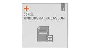 Cordel Anbudskalkulasjon