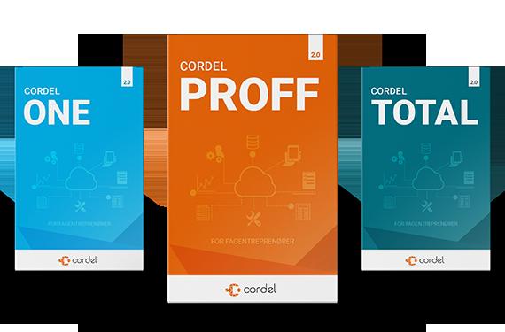 Cordel Produktpakker