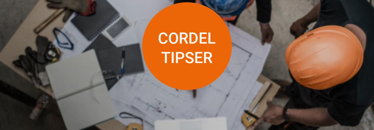 Cordel tipser