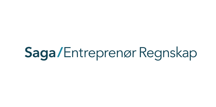 Saga Entreprenør Regnskap