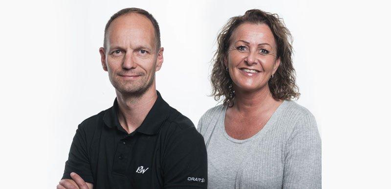 Ketil Valseth og Lotte Bjørnebo